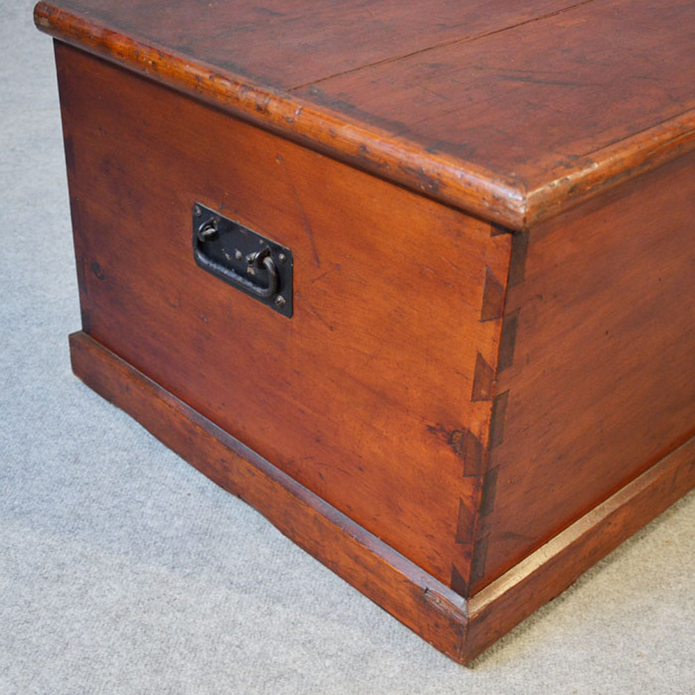 Coffee Table Blanket Box Chest Shipping Trunk Antiques Atlas
