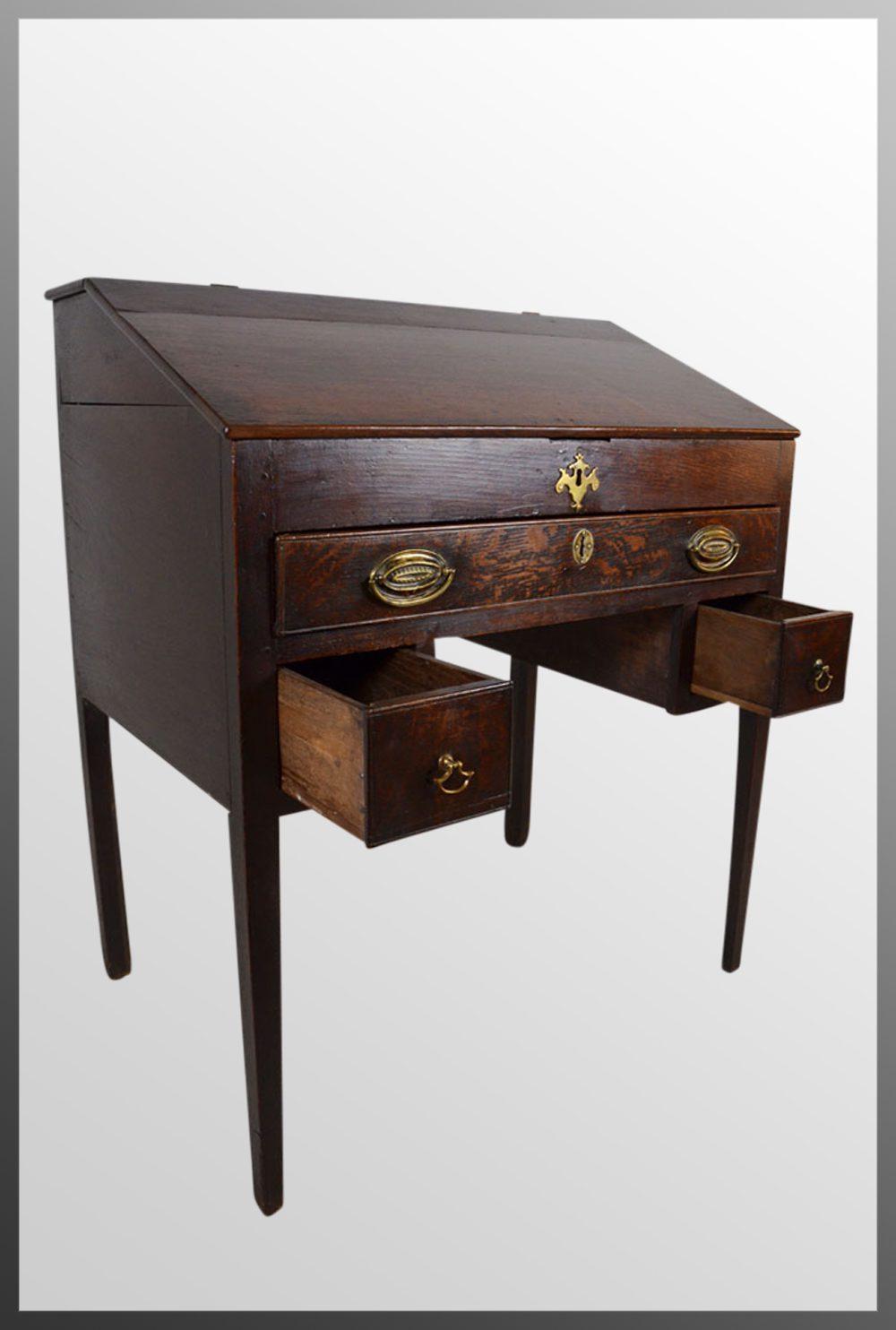 desk writing bureau english 17th century antiques atlas. Black Bedroom Furniture Sets. Home Design Ideas