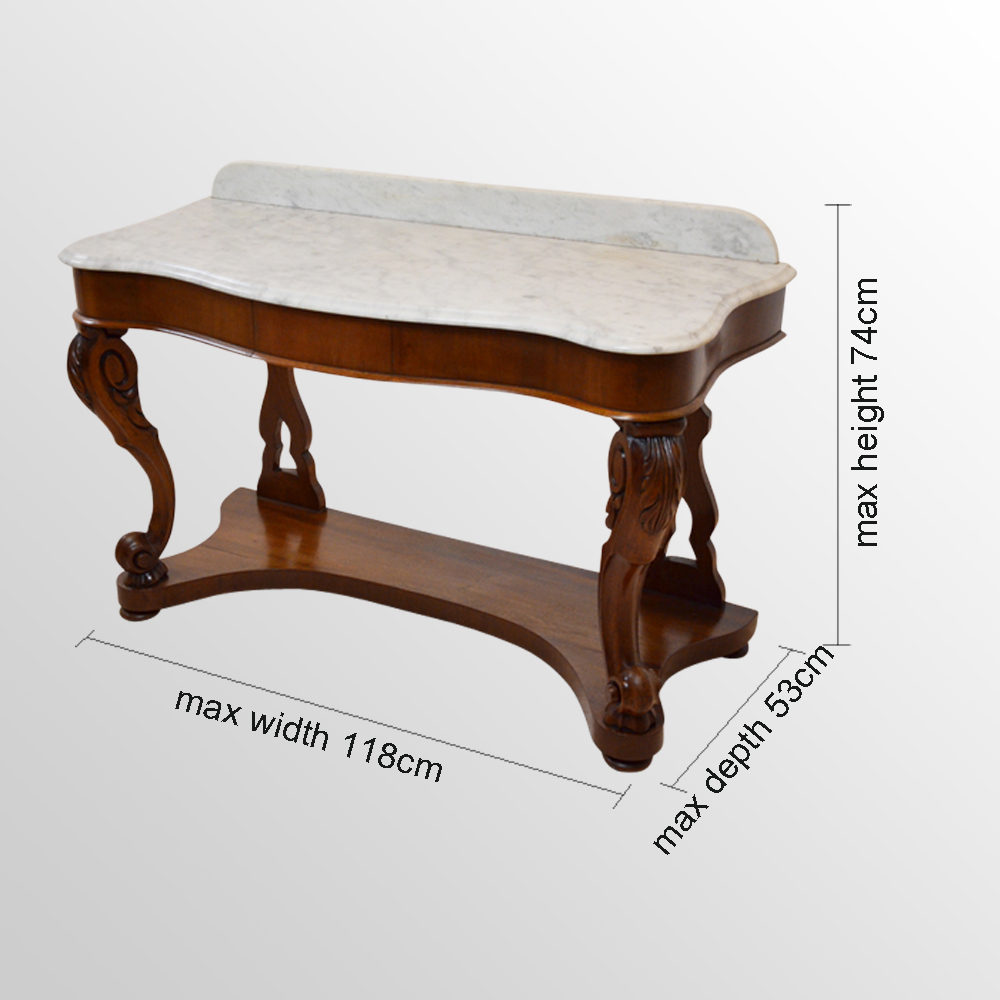 Dressing Table Vanity Wash Stand Marble Top Antiques Atlas