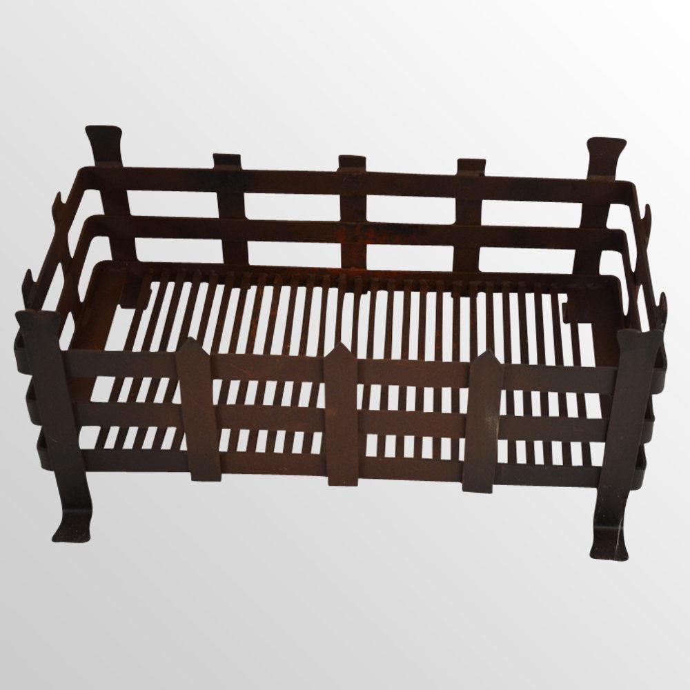 Antiques atlas fire grate wrought iron log coal basket