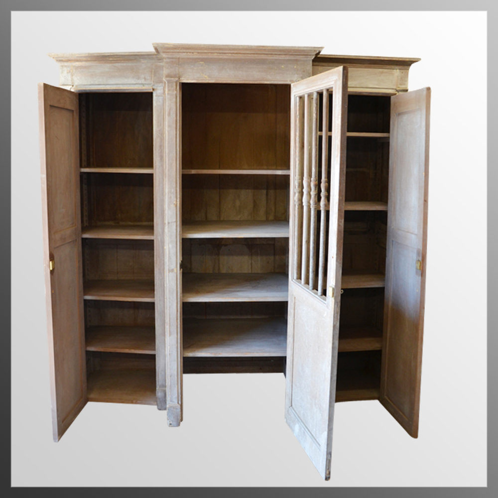 French cabinet confessional booth wardrobe kitchen for Kitchen wardrobe cabinet