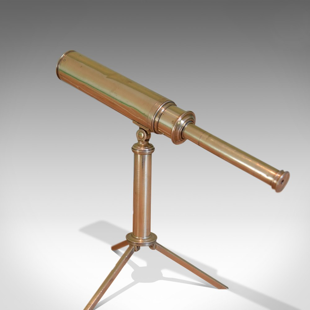"Rare Miniature Dollond Antique Telescope, 1"""