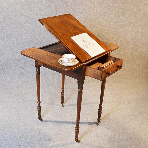 Reading table worktable side writing lamp lectern