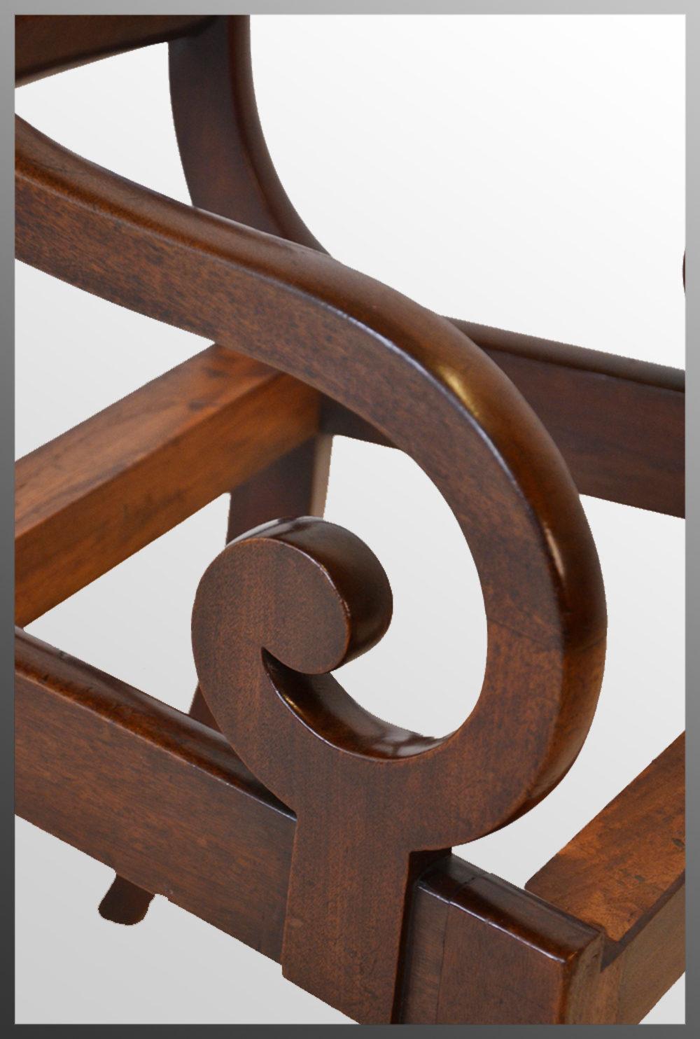 Regency Armchair English Chair Scroll Arm Antiques Atlas