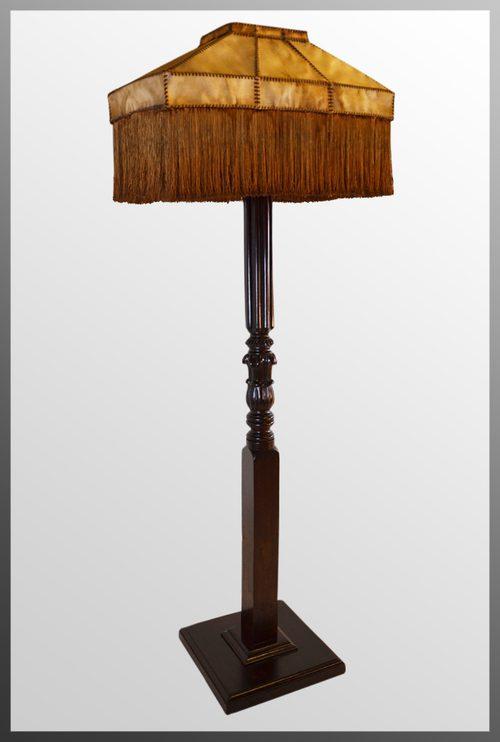 Antiques Atlas Standard Lamp Shade Large Tall Floor Light