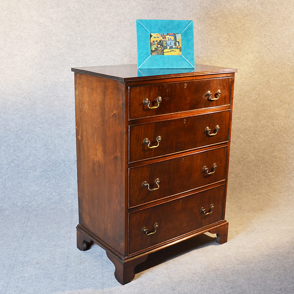 Tall Narrow Chest Drawers Flame Tallboy Antiques Atlas