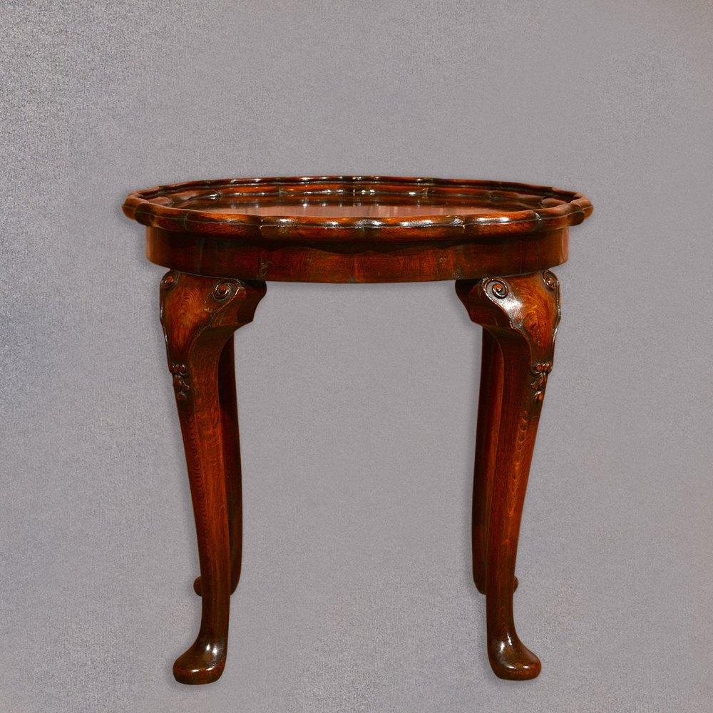 Victorian Pie Crust Coffee Table, C.1900