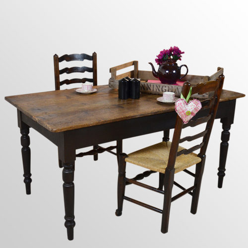 pine kitchen dining table seats 6 antiques atlas