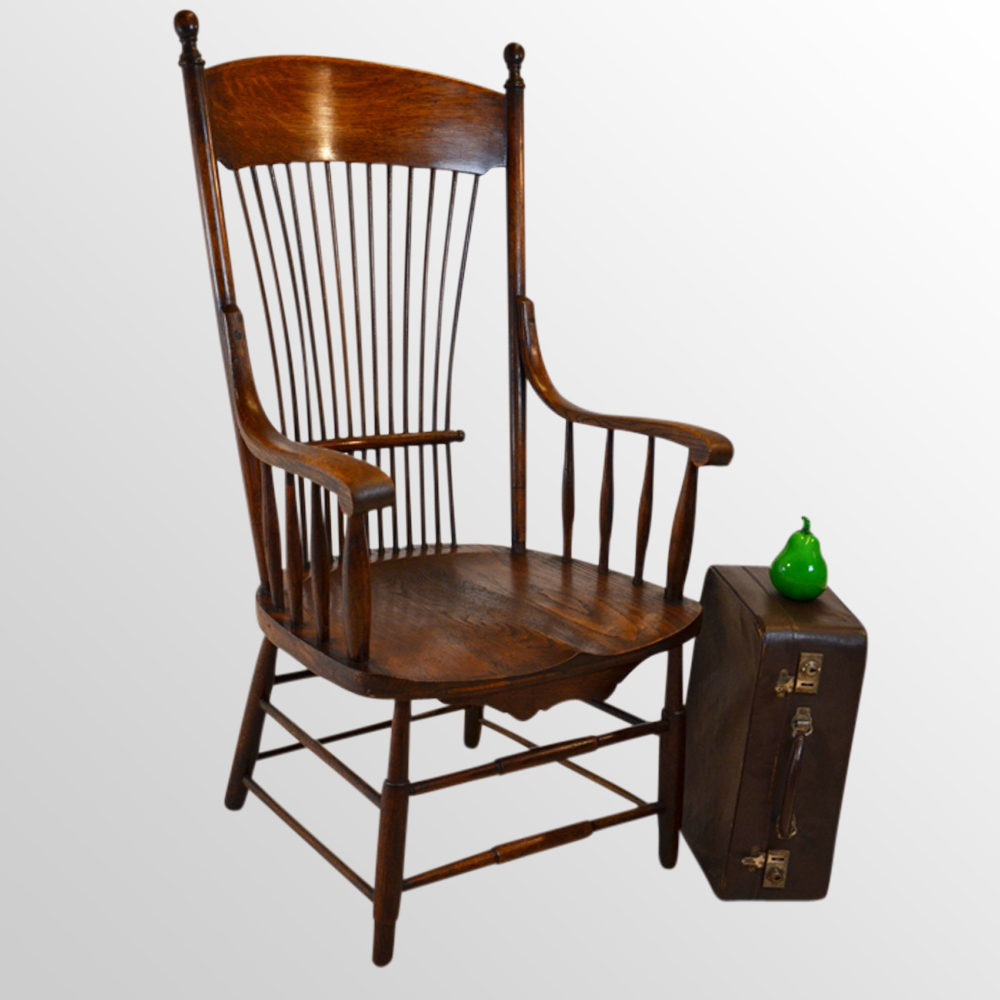Windsor Wide Seat Reading Country Kitchen Chair Antiques Atlas