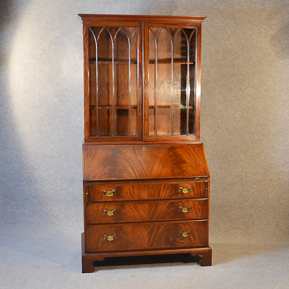 Photos. Writing Desk Bureau Bookcase ...