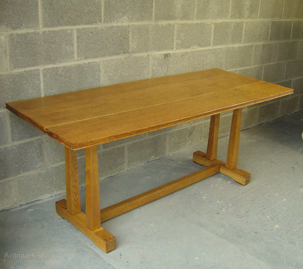 Antiques Atlas Air Ministry Oak Refectory Dining Table 1940