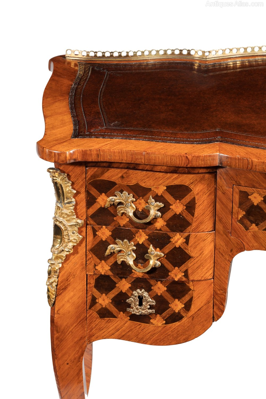 Fine Louis Xv Writing Desk Stamped J Schmitz Antiques Atlas