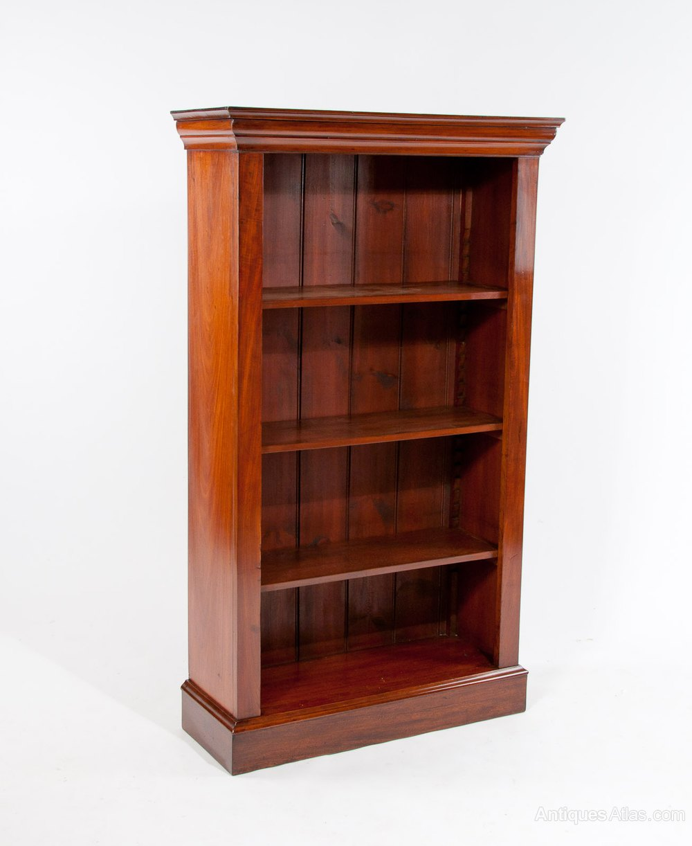 Fine Quality Mahogany Victorian Open Bookcase Antiques Atlas