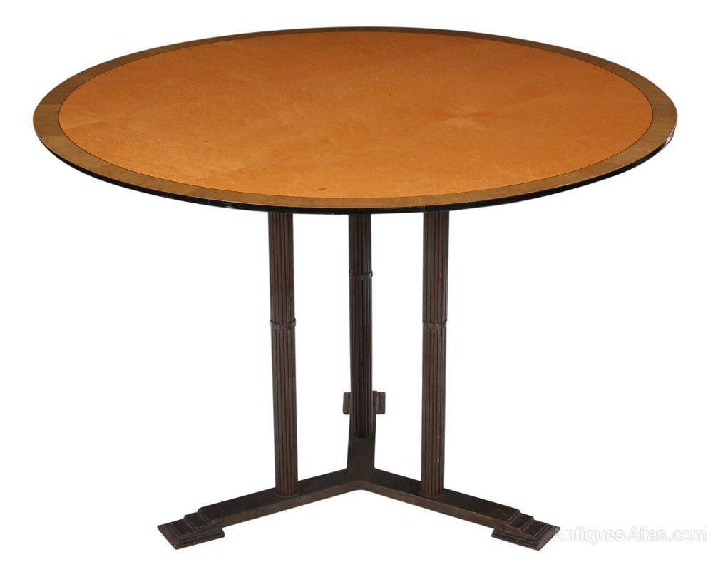 Art Deco Round Dining Table Antiques Atlas : ArtDecoRoundDiningTableas287a1533z from www.antiques-atlas.com size 1000 x 795 jpeg 53kB