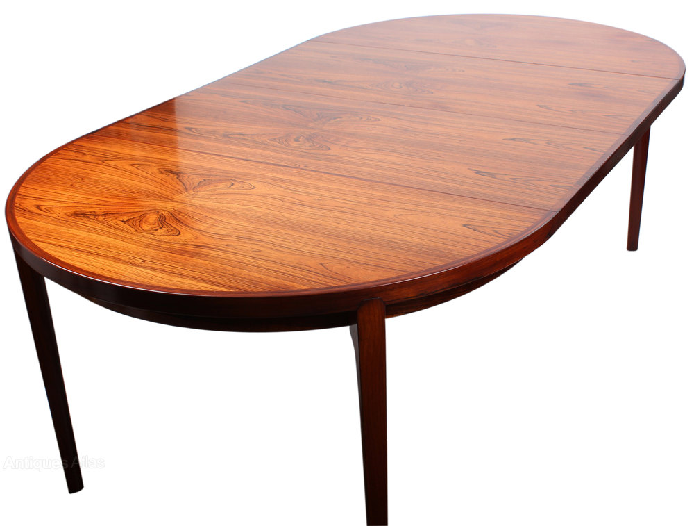 antiques atlas danish rosewood dining table