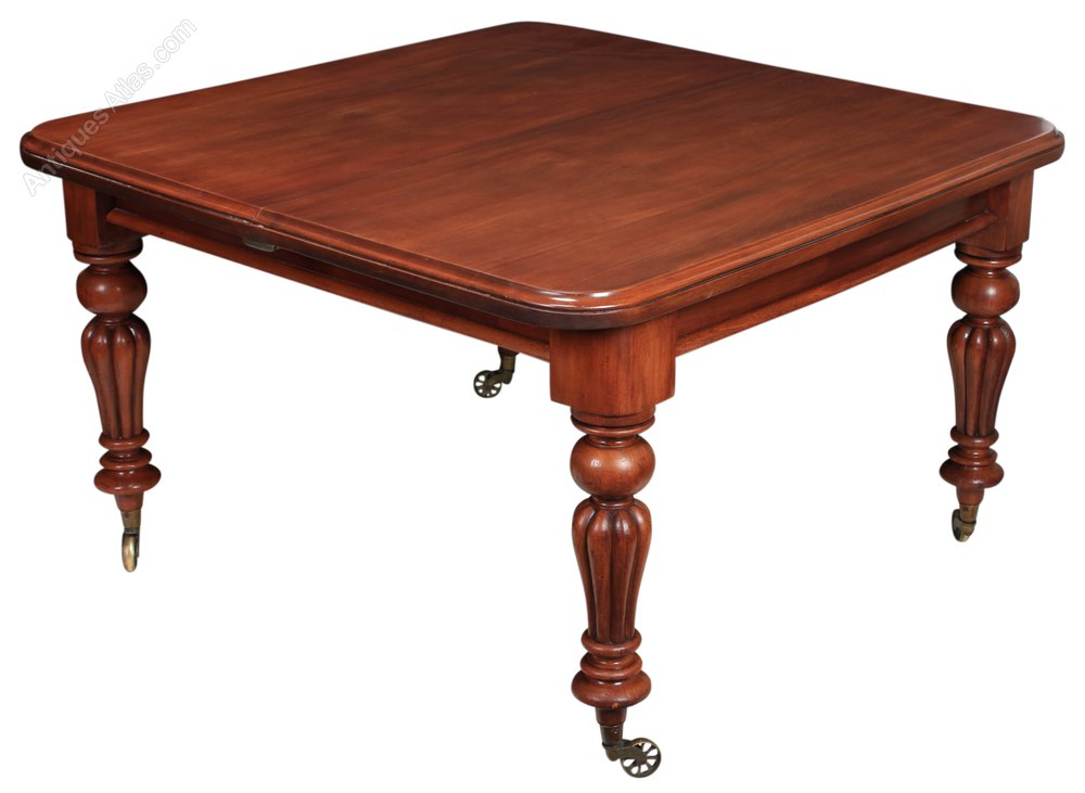 Mahogany extending dining table antiques atlas - Antiques dining tables ...