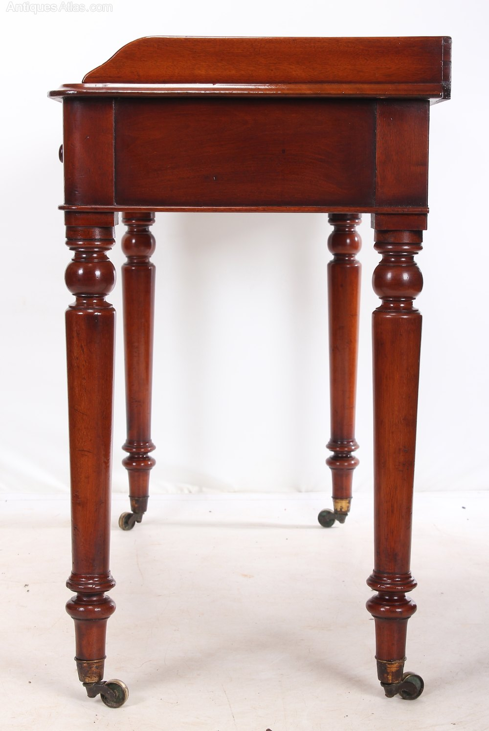 this mahogany hall table is in showroom condition ready for the home