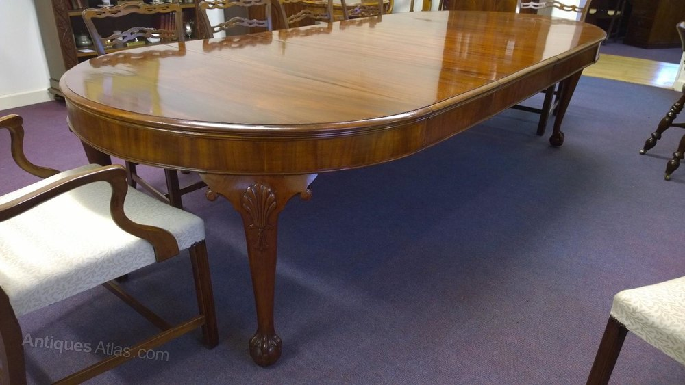 mahogany table antique table