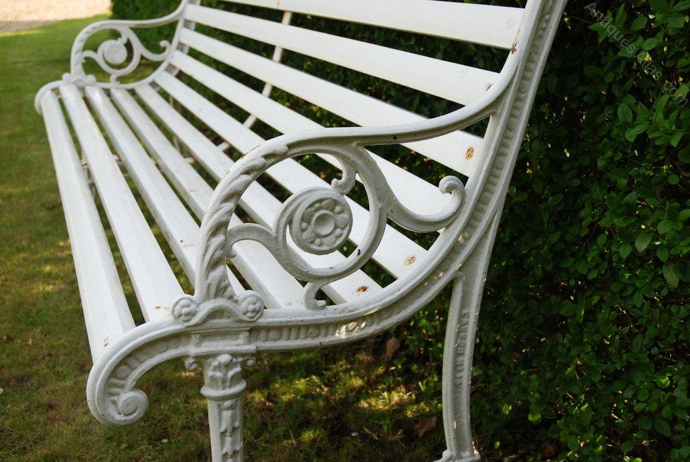 Antiques Atlas Edwardian Cast Iron Garden Bench