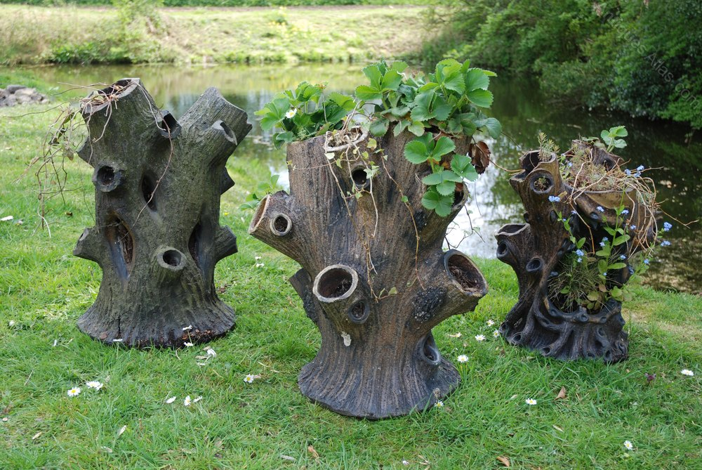 Antiques Atlas - Three Victorian Saltglaze Tree ...