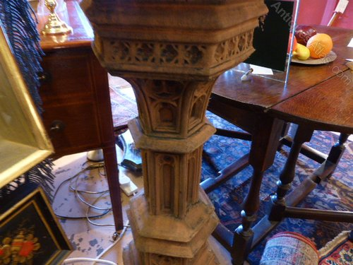 Antiques Atlas Sturdy Quot Bird Bath Quot In The Gothic Style