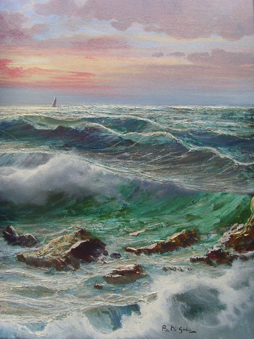 Oil Painting Artist Signature