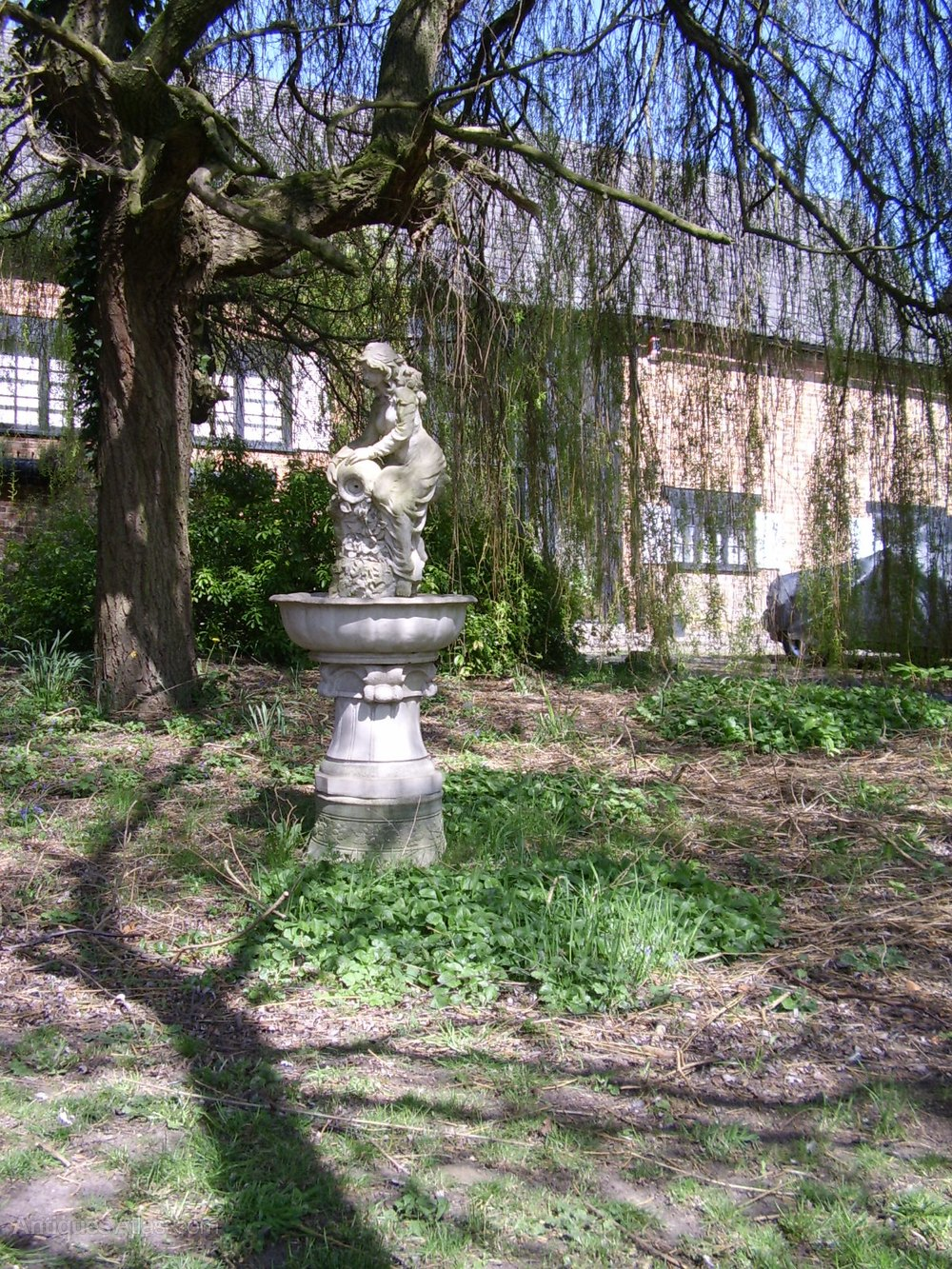 Antiques Atlas Garden Statues Of Maiden Fountain Base