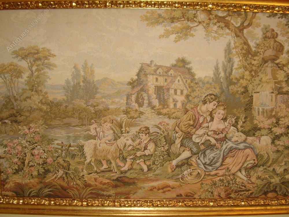 Antiques Atlas Tapestry Woven Picture Of 17thc Family