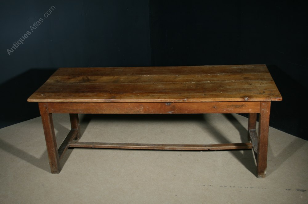 Antique Fruitwood Farmhouse Table Antiques Atlas