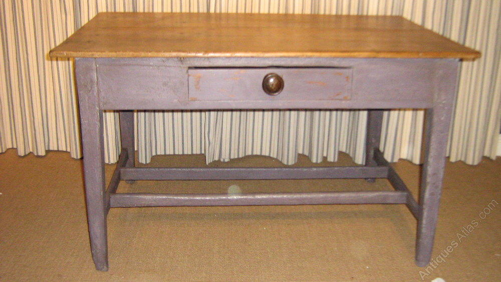 A French Pine Farmhouse Table Antiques Atlas