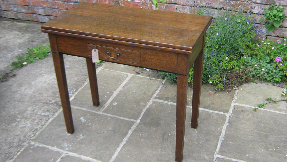 Victorian Swivel Top Card Table ...