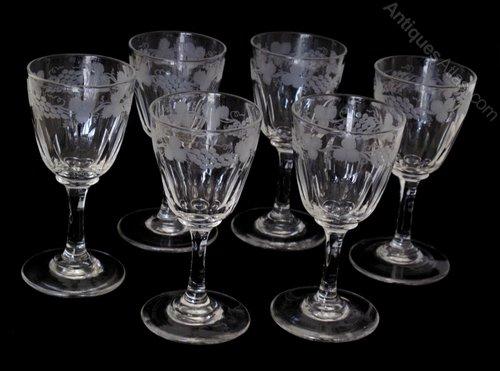Antique Drinking Glasses Identification