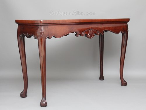 18th Century Mahogany Serving Side Table Antiques Atlas