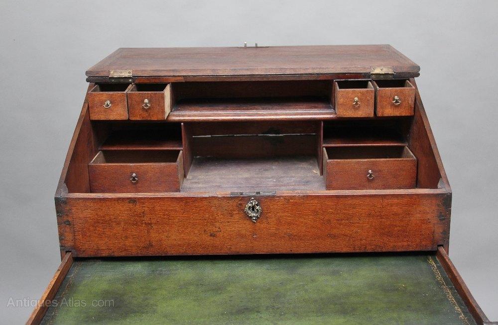 18th Century Oak Maitre D Stand Desk Antiques Atlas