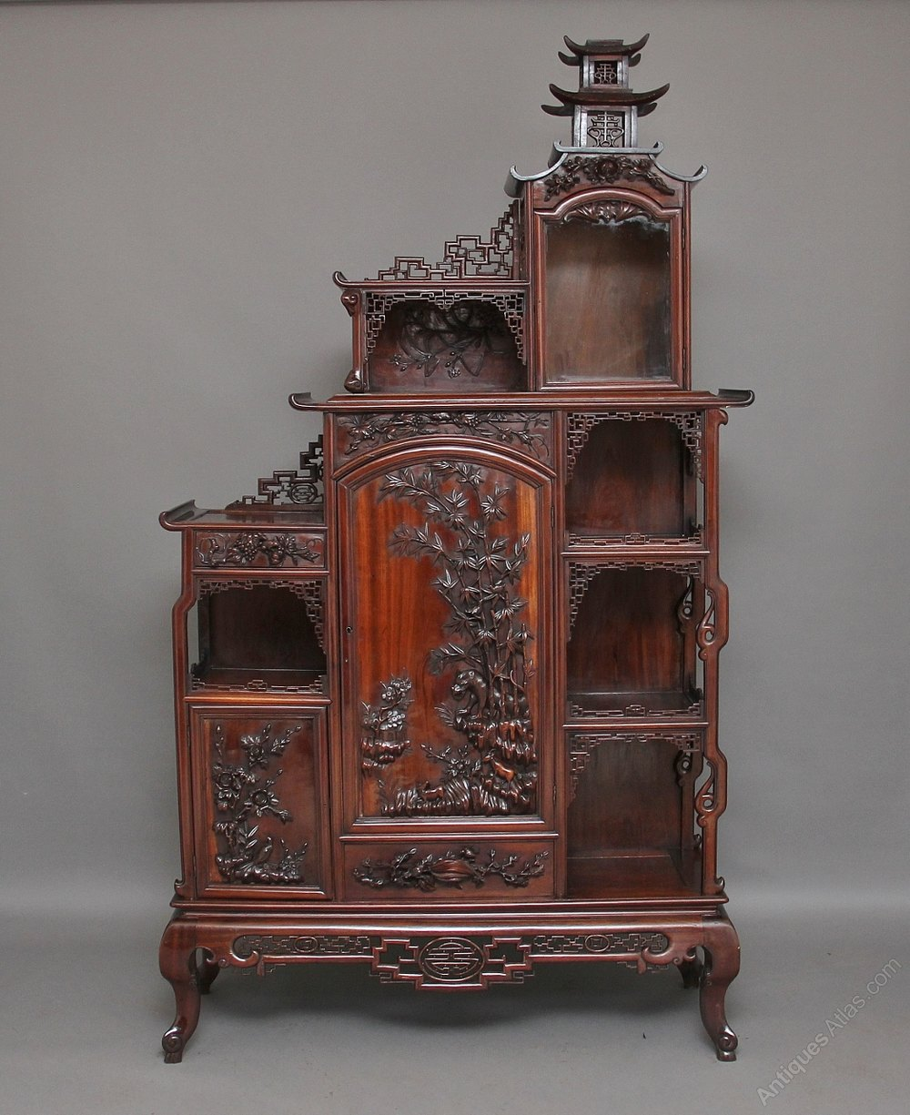 19th Century Chinese Rosewood Cabinet Antiques Atlas