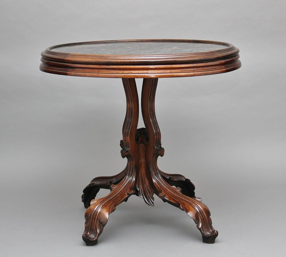 19th century walnut occasional table antiques atlas for Occasional tables