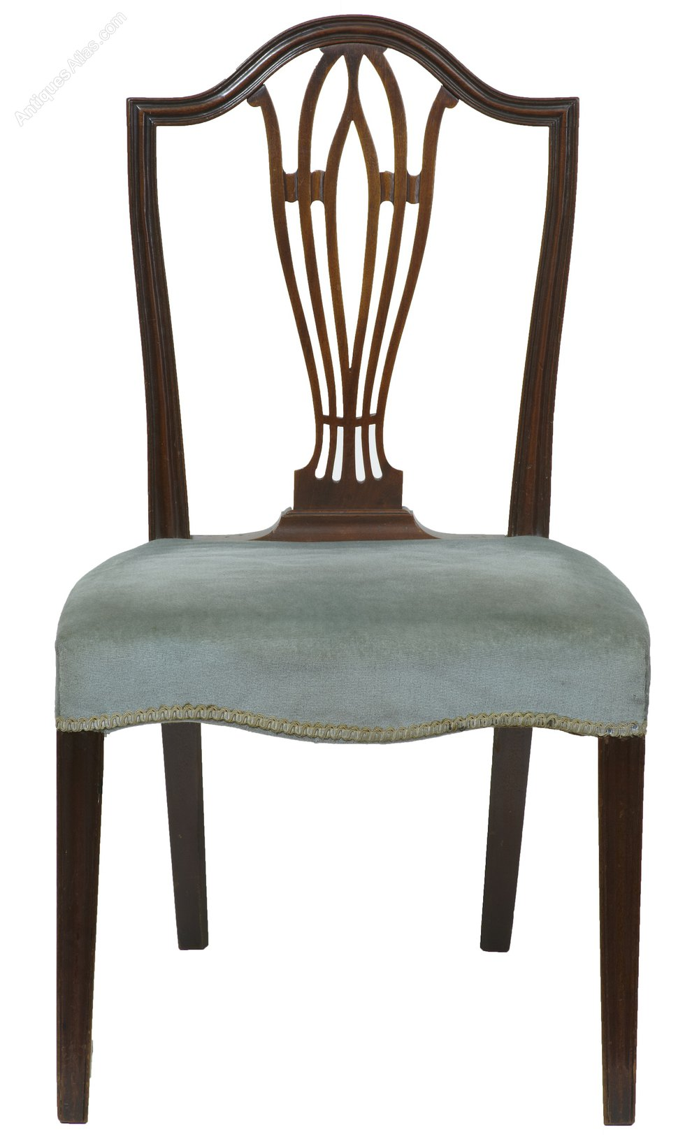 A set of 6 early 19th century mahogany dining chairs for Set of 6 dining chairs