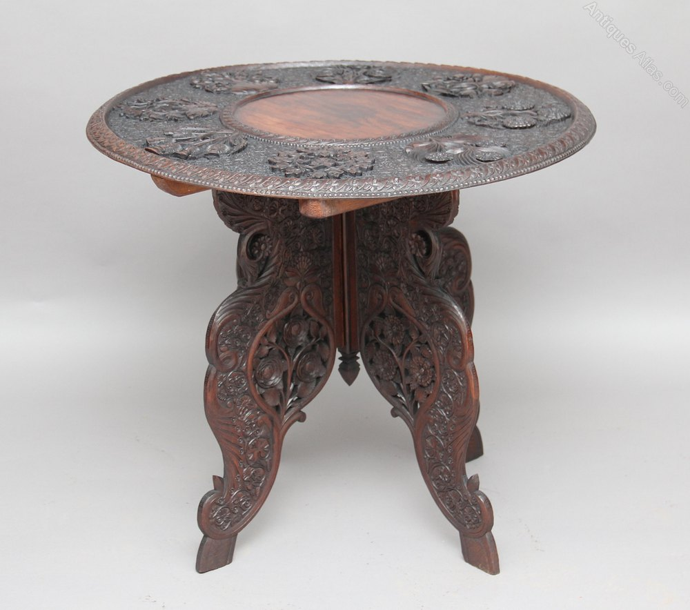 Carved occasional table antiques atlas for Occasional furniture