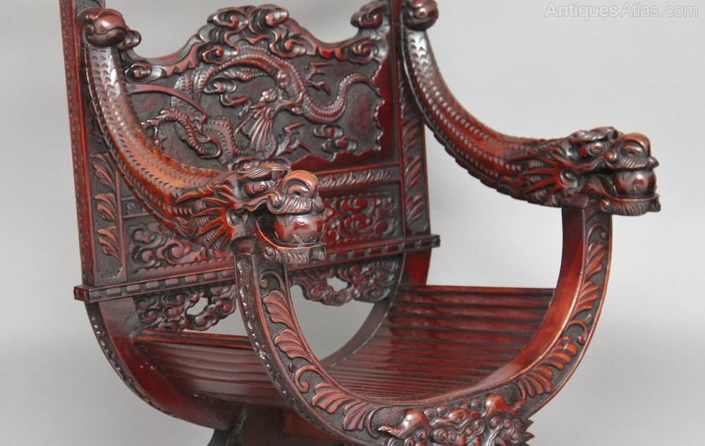 Chinese carved throne chair antiques atlas for Asian chairs for sale