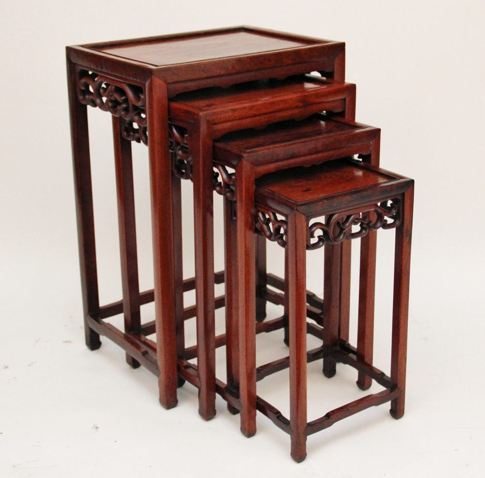 Chinese nest of tables antiques atlas