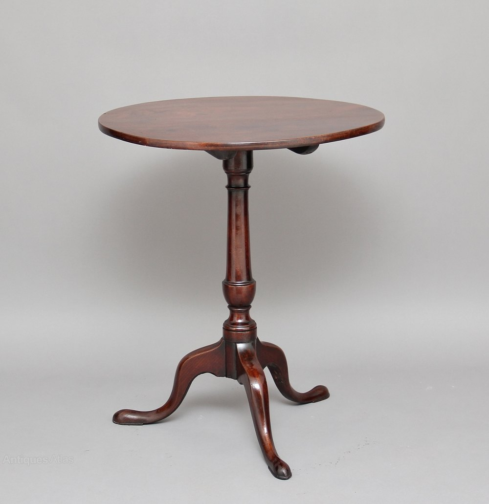 mahogany tripod table antiques atlas. Black Bedroom Furniture Sets. Home Design Ideas