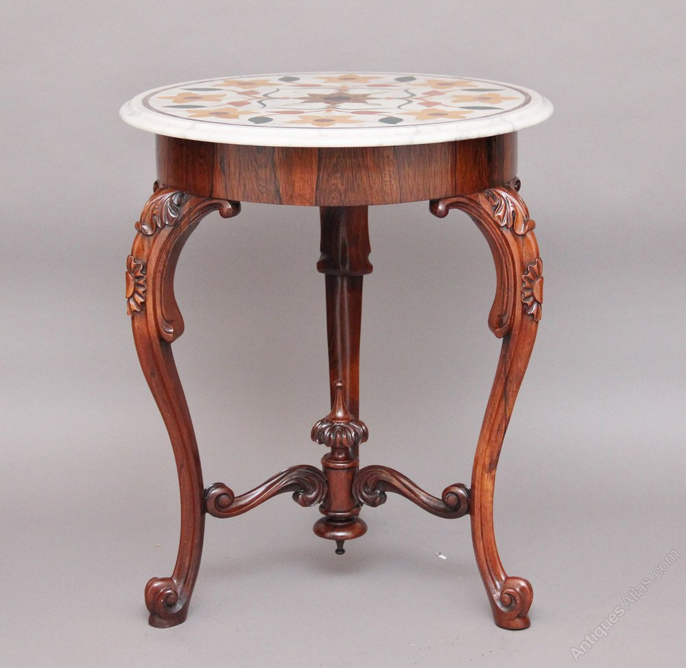 Marble Top Occasional Table Antiques Atlas