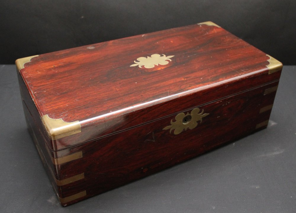 Antiques Atlas Rosewood Writing Box