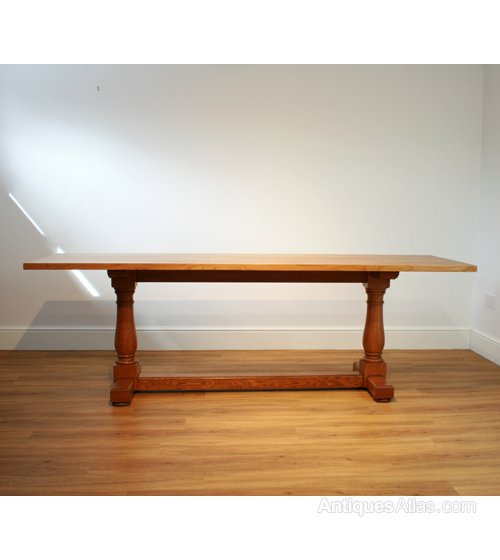 A heal 39 s oak refectory dining table antiques atlas - Heals dining table ...