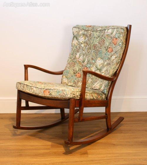Antiques Atlas A Parker Knoll Florian Rocking Chair