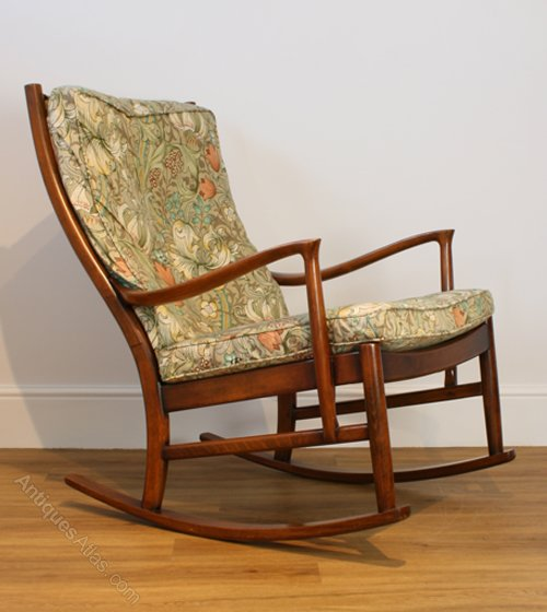 Antiques atlas a parker knoll 39 florian 39 rocking chair - Knoll rocking chair ...