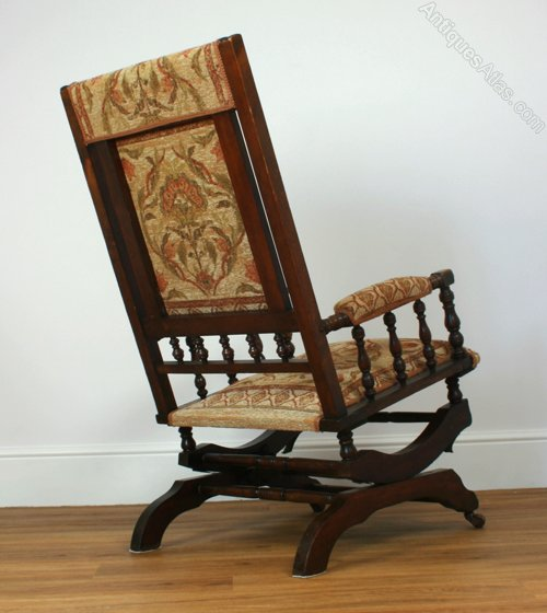 ... and arms, this is an example of the classic American rocking chair