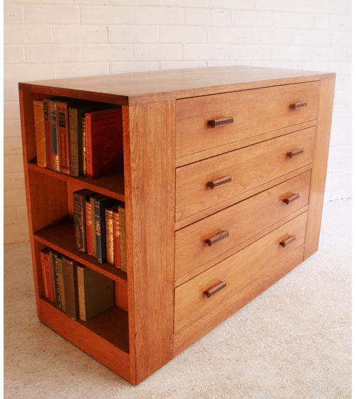 an oak bookcase chest of drawers antiques atlas