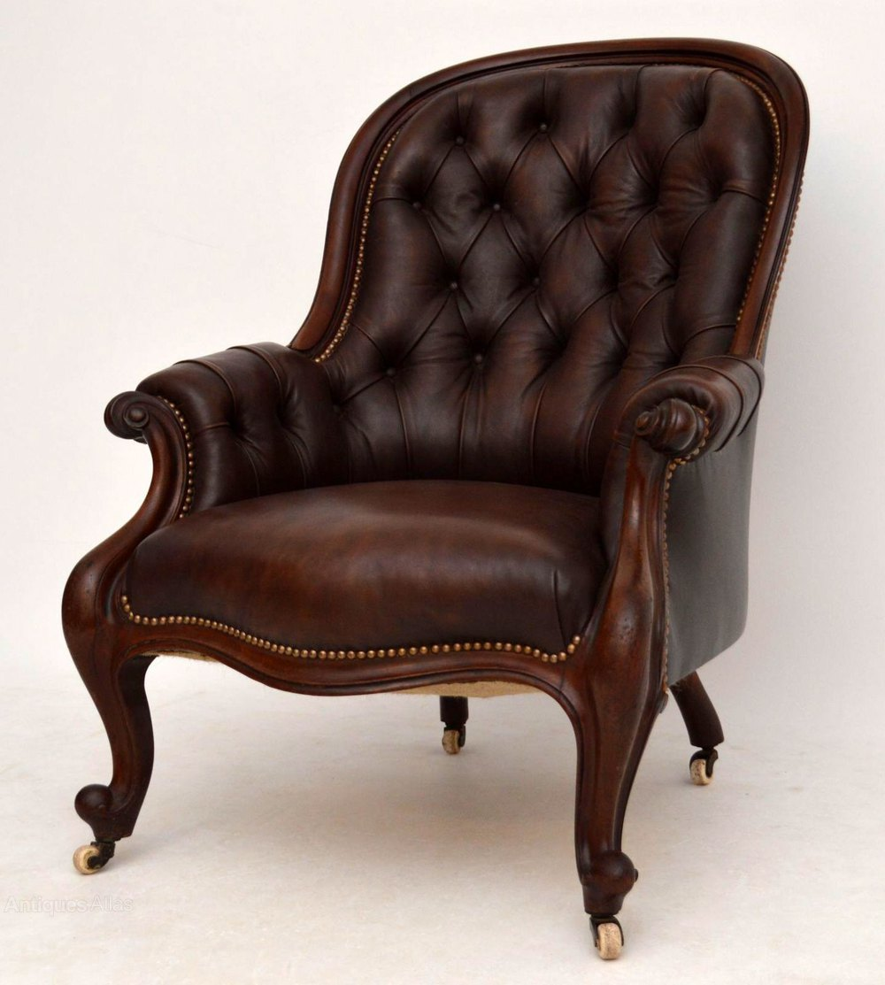 Antique Victorian Mahogany & Leather Armchair  Antiques Atlas. Tuscan Style Chandelier. Outside House Lights. Dining Room Design. Tulsa Fireplace. Black Sconces. Ice Brown Granite. Cool Beds For Sale. Colorful Kitchen Table