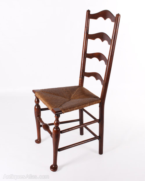 Six oak ladder back chairs antiques atlas Ladder back chairs
